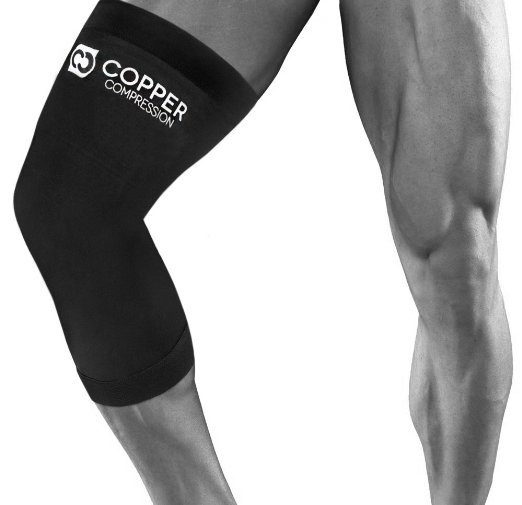 Copper Recovery Knee Sleeves