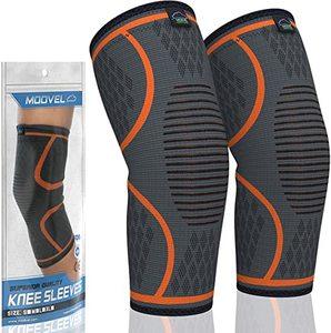 Modvel 2 Pack Knee Compression Sleeve