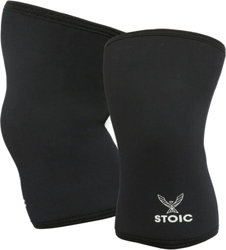 Stoic 7mm Knee Sleeves for Powerlifting